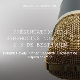 Présentation des symphonies Nos. 1, 2 & 3 de Beethoven