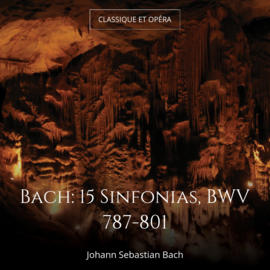 Bach: 15 Sinfonias, BWV 787-801