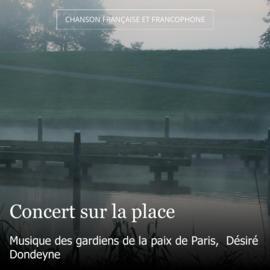 Concert sur la place