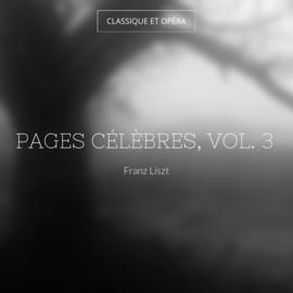 Pages célèbres, vol. 3