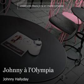 Johnny à l'Olympia