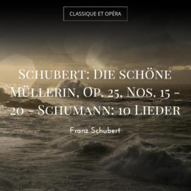 Schubert: Die schöne Müllerin, Op. 25, Nos. 15 - 20 - Schumann: 10 Lieder