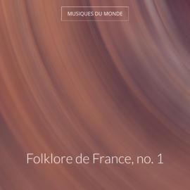 Folklore de France, no. 1