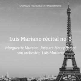 Luis Mariano récital no. 3