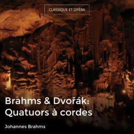 Brahms & Dvořák: Quatuors à cordes