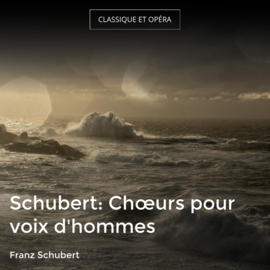 Schubert: Chœurs pour voix d'hommes