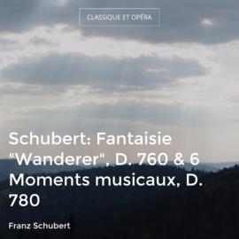 """Schubert: Fantaisie """"Wanderer"""", D. 760 & 6 Moments musicaux, D. 780"""