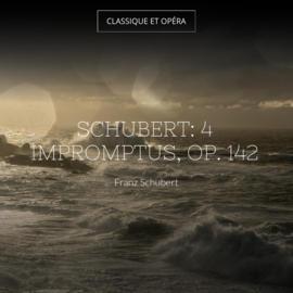 Schubert: 4 Impromptus, Op. 142