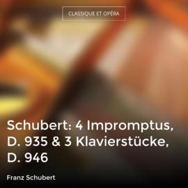 Schubert: 4 Impromptus, D. 935 & 3 Klavierstücke, D. 946