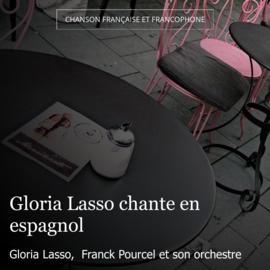 Gloria Lasso chante en espagnol