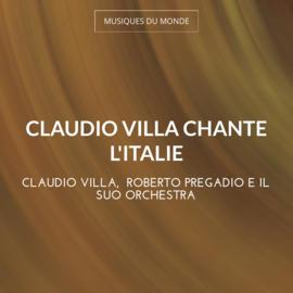 Claudio Villa chante l'Italie