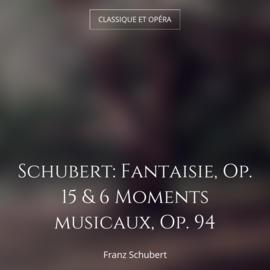Schubert: Fantaisie, Op. 15 & 6 Moments musicaux, Op. 94