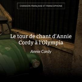 Le tour de chant d'Annie Cordy à l'Olympia