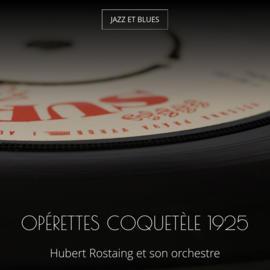 Opérettes coquetèle 1925