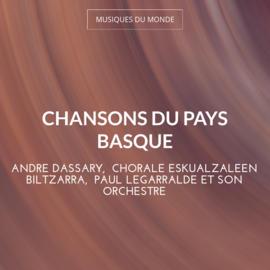 Chansons du Pays Basque