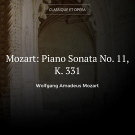 Mozart: Piano Sonata No. 11, K. 331