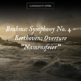 "Brahms: Symphony No. 4 - Beethoven: Overture ""Namensfeier"""