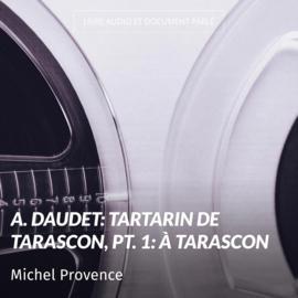 A. Daudet: Tartarin de Tarascon, pt. 1: À Tarascon