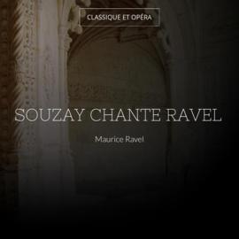 Souzay chante Ravel