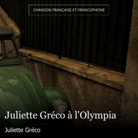 Juliette Gréco à l'Olympia