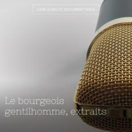Le bourgeois gentilhomme, extraits