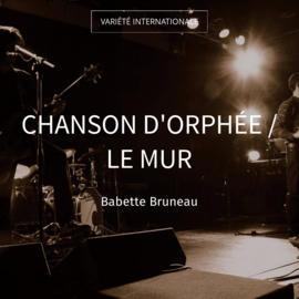 Chanson d'Orphée