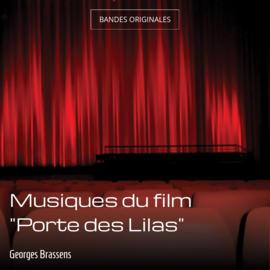 """Musiques du film """"Porte des Lilas"""""""