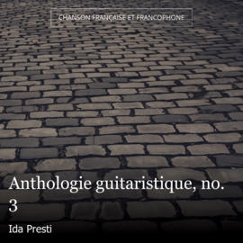 Anthologie guitaristique, no. 3