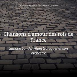 Chansons d'amour des rois de France