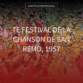 7e festival de la chanson de San Remo, 1957