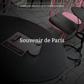 Souvenir de Paris