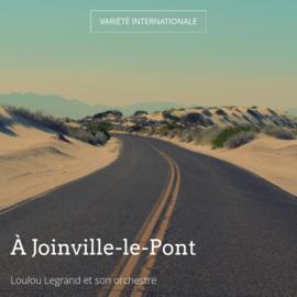 À Joinville-le-Pont