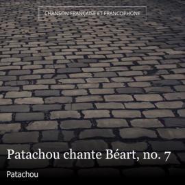 Patachou chante Béart, no. 7