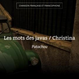 Les mots des javas / Christina