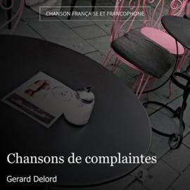 Chansons de complaintes