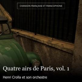 Quatre airs de Paris, vol. 1