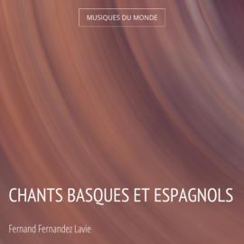 Chants basques et espagnols