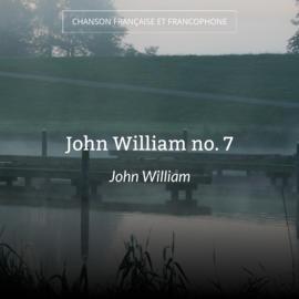 John William no. 7