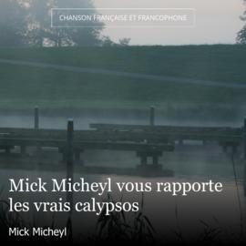 Mick Micheyl vous rapporte les vrais calypsos