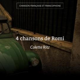 4 chansons de Romi