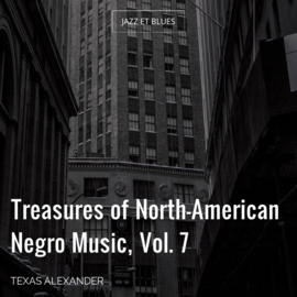 Treasures of North-American Negro Music, Vol. 7