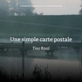 Une simple carte postale
