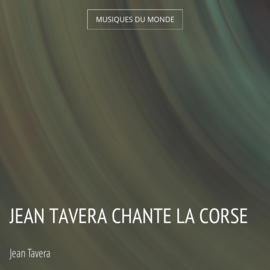 Jean Tavera chante la Corse