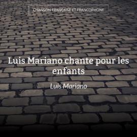 Luis Mariano chante pour les enfants