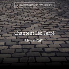 Chantent Léo Ferré
