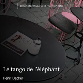 Le tango de l'éléphant