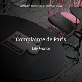 Complainte de Paris