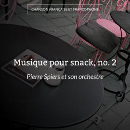 Musique pour snack, no. 2