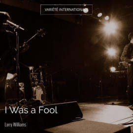I Was a Fool