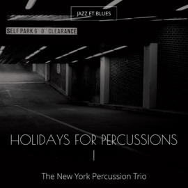 Holidays for Percussions !